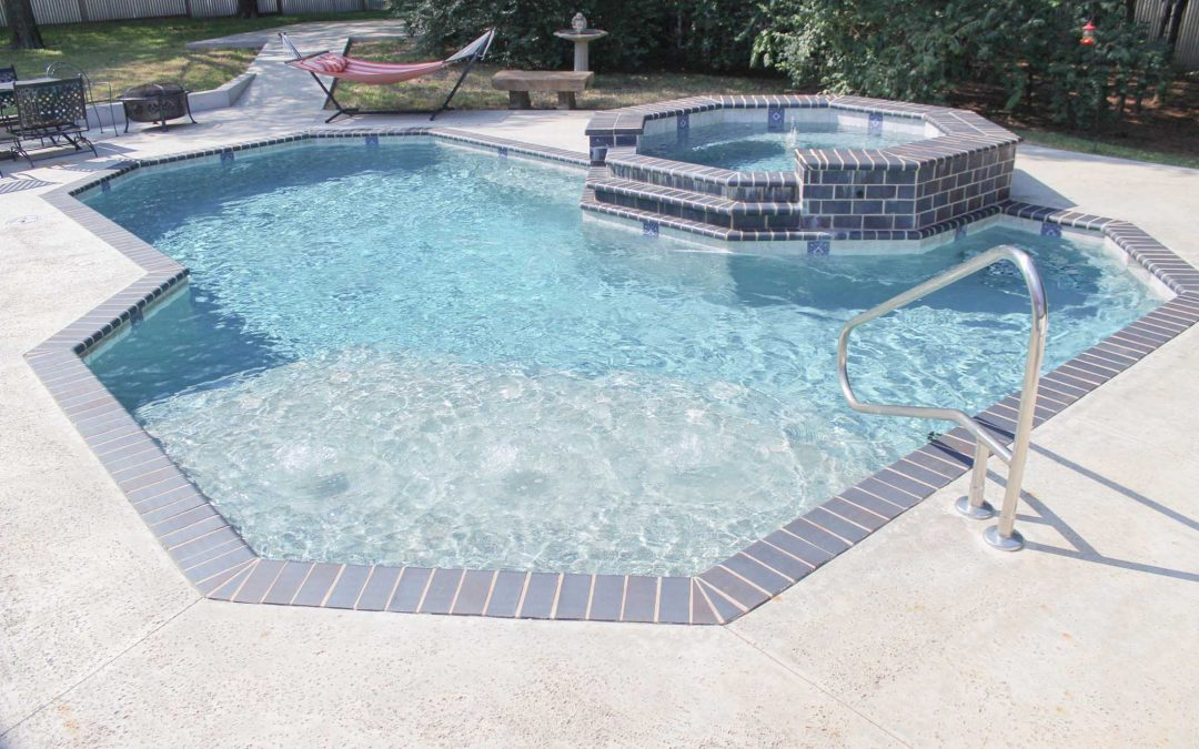 The Lounge Pool Construction by Crystal Blue Pools
