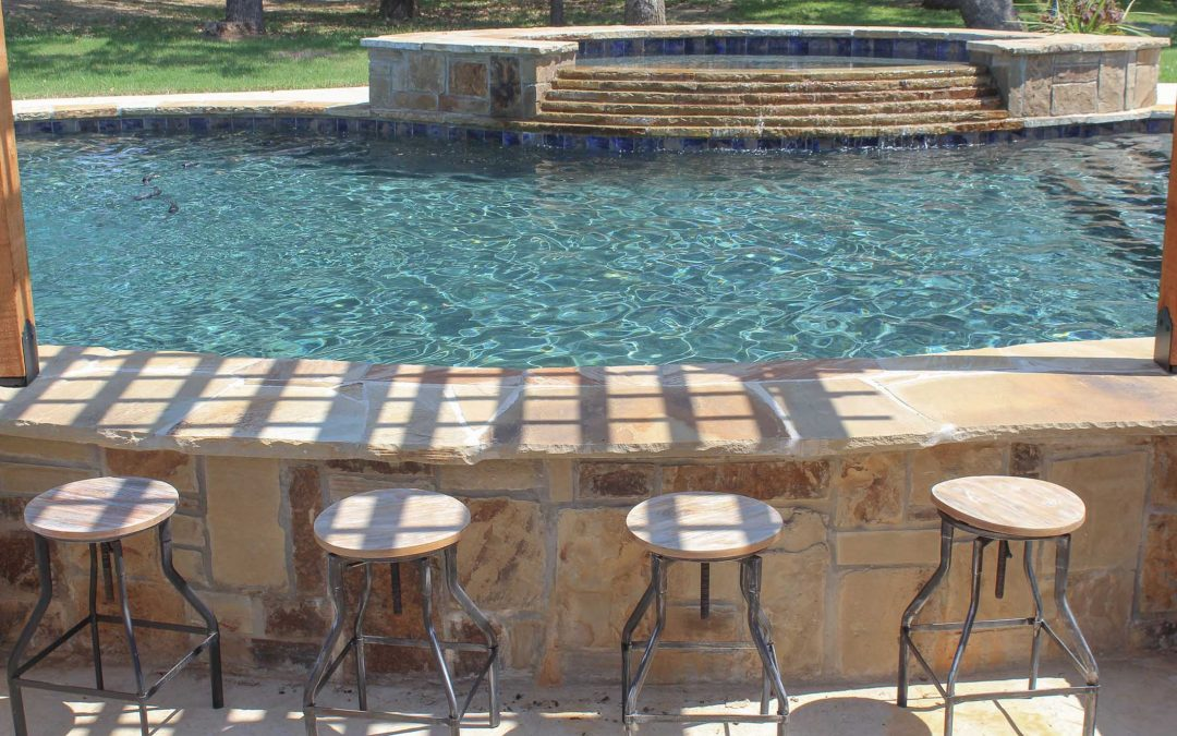 The Fountainhead Pool Construction by Crystal Blue Pools